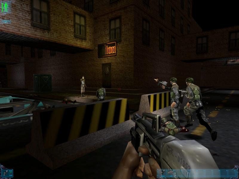 Слабый шутер, средний стелс, бедная графика, — таковы ингредиенты одной из лучших игр за все время существования индустрии (Deus Ex)