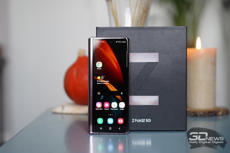Samsung заняла почти три четверти рынка гибких смартфонов