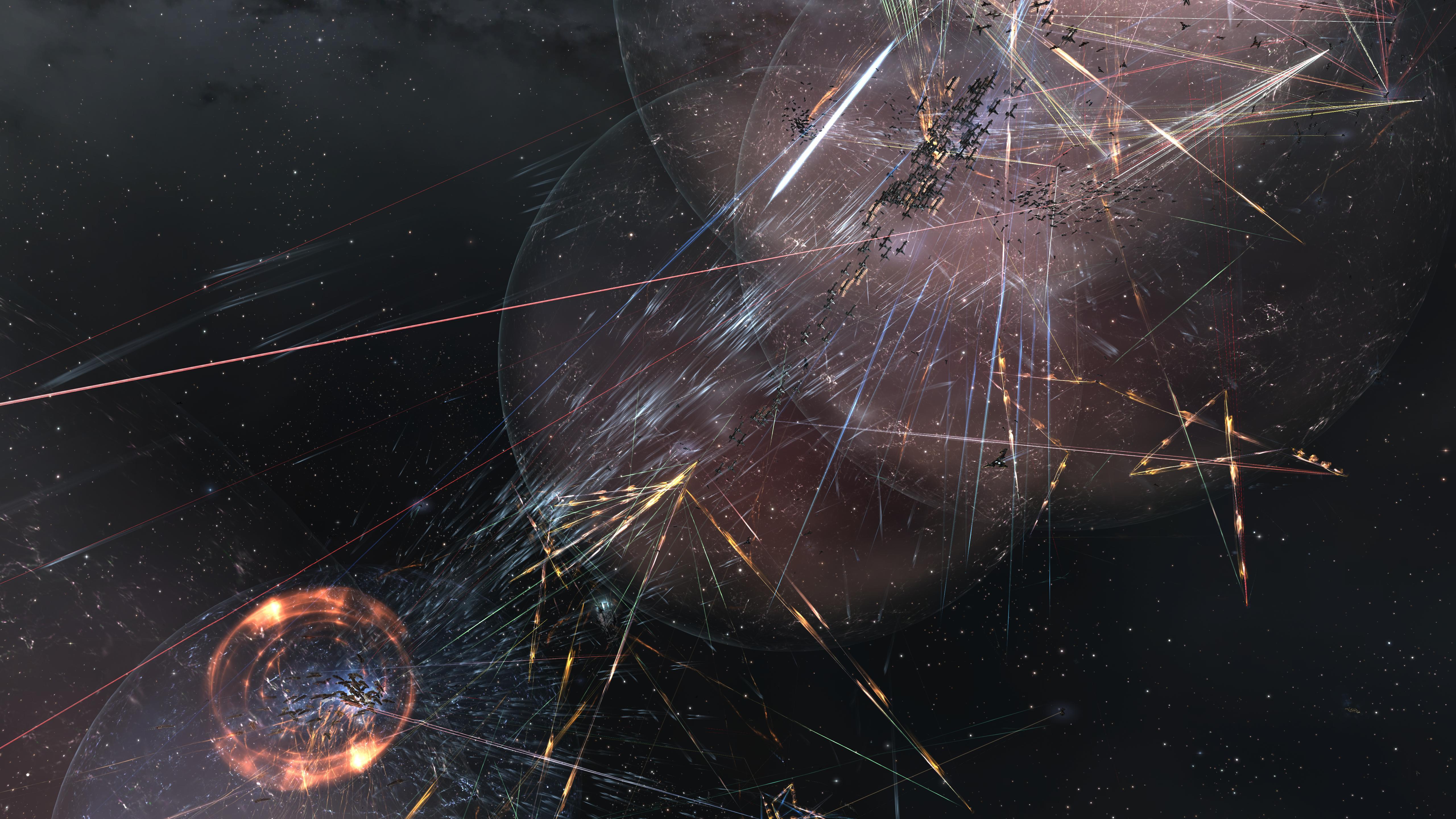 Участники глобального конфликта в EVE Online объявили рождественское перемирие