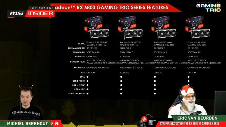 Из-за дефицита графических процессоров MSI будет выпускать карты Radeon RX 6000 только серии Gaming
