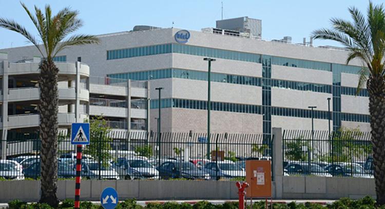 Завод Intel в израильском Кирьят-Гате (Hertzel Yosef)