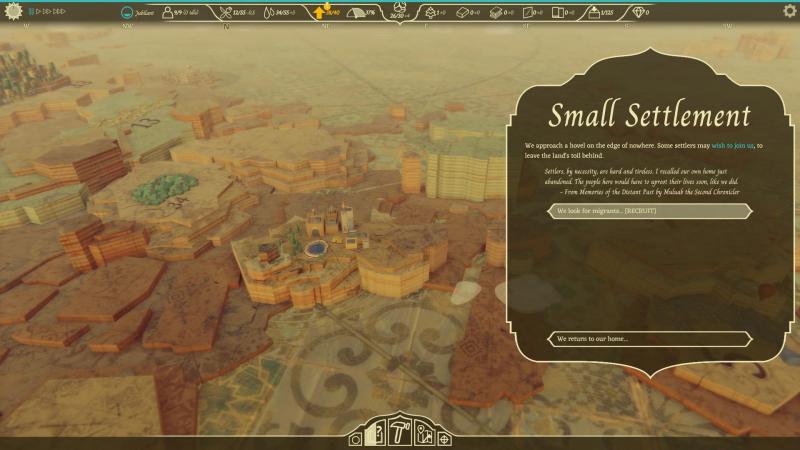 Периодически на карте встречаются маленькие, почти заброшенные, поселения. Жители с удовольствием присоединятся к нам, если общее настроение в королевстве на достаточно высоком уровне