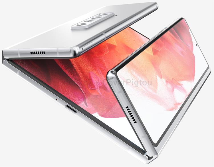 Новые варианты гибкого смартфона Samsung Galaxy Z Fold красуются на рендерах