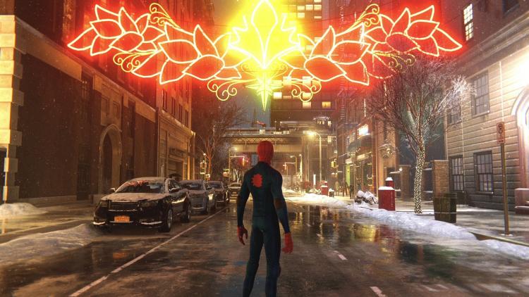 Marvel's Spider-Man: Miles Morales забралась так высоко тоже благодаря трассировке лучей