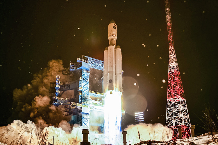 Пуск тяжёлой «Ангара-А5» с космодрома Плесецк 14 декабря 2020 года