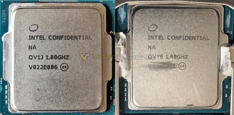 Серийное производство процессоров Intel Rocket Lake начнётся в январе