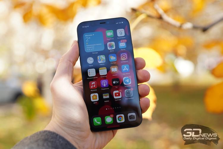 Мировые продажи Apple iPhone пошли на новый рекорд
