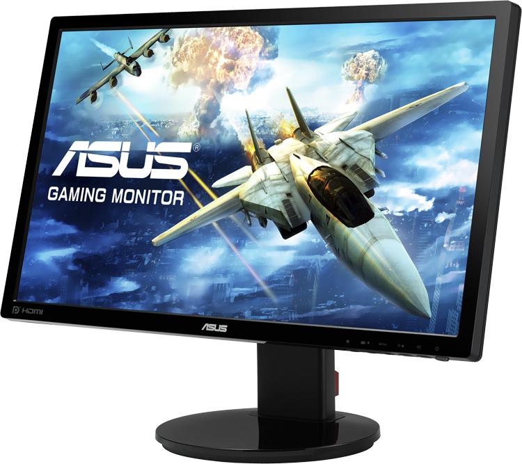 Игровой монитор ASUS VG248QEZ обладает временем отклика в 1 мс