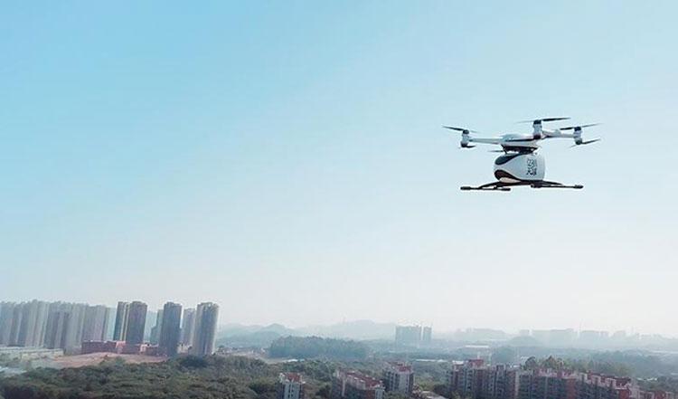 Грузовой дрон . Источник изображения: EHang
