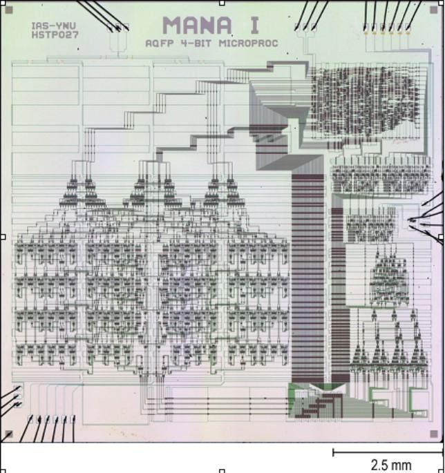 Японский микропроцессор на параметронах. Источник изображения: Yokohama National University