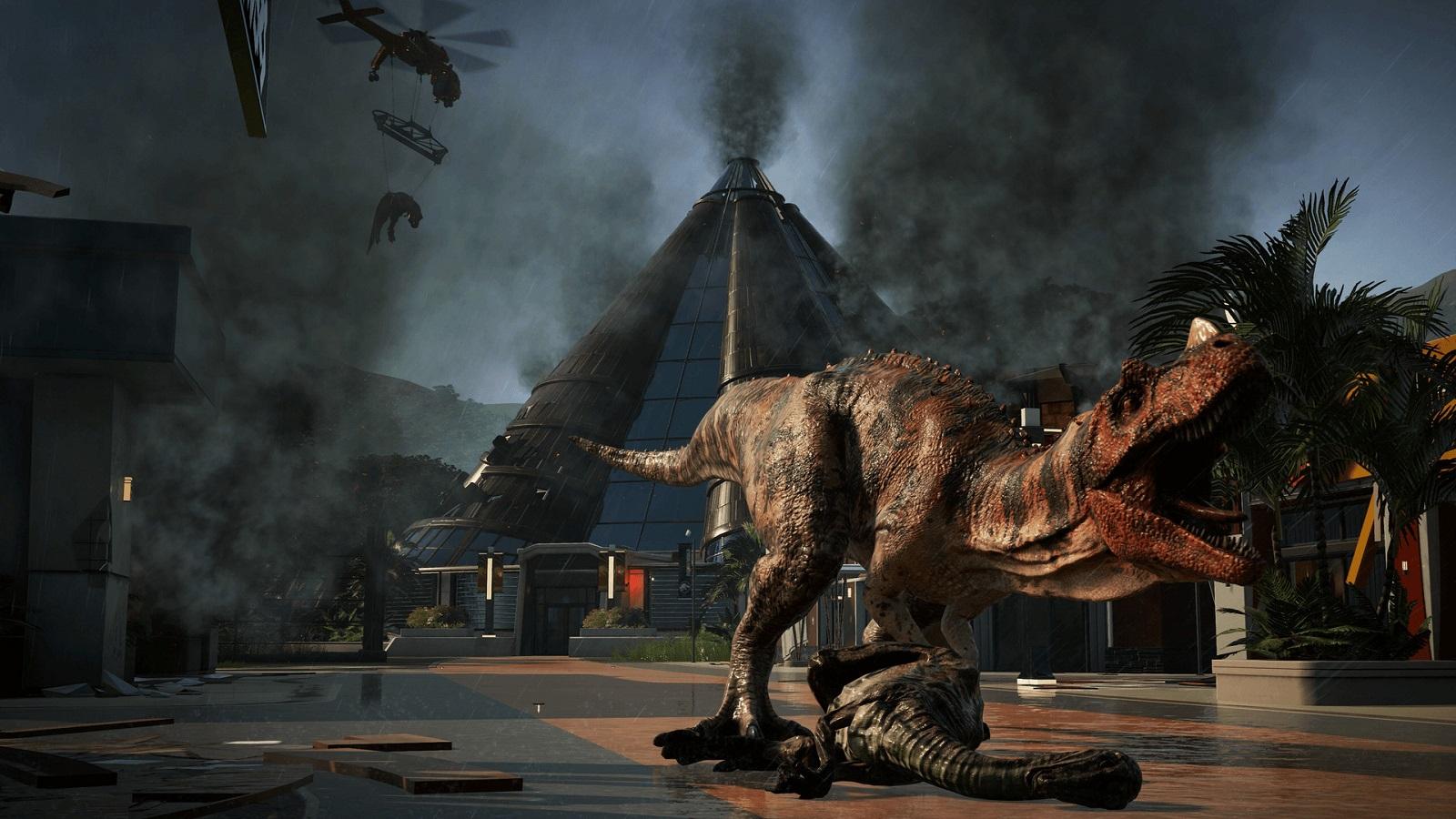 В EGS началась последняя предновогодняя раздача — до 7 января бесплатной стала Jurassic World Evolution