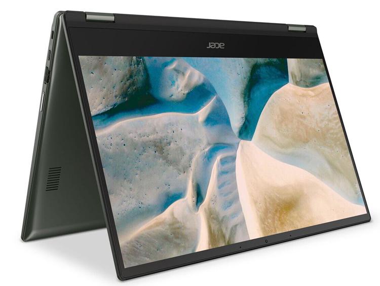 Acer представила ноутбук Chromebook Spin 514 с процессором AMD Ryzen Mobile