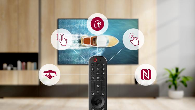 """Новые телевизоры LG получат платформу webOS 6.0 и пульт с поддержкой NFC"""""""