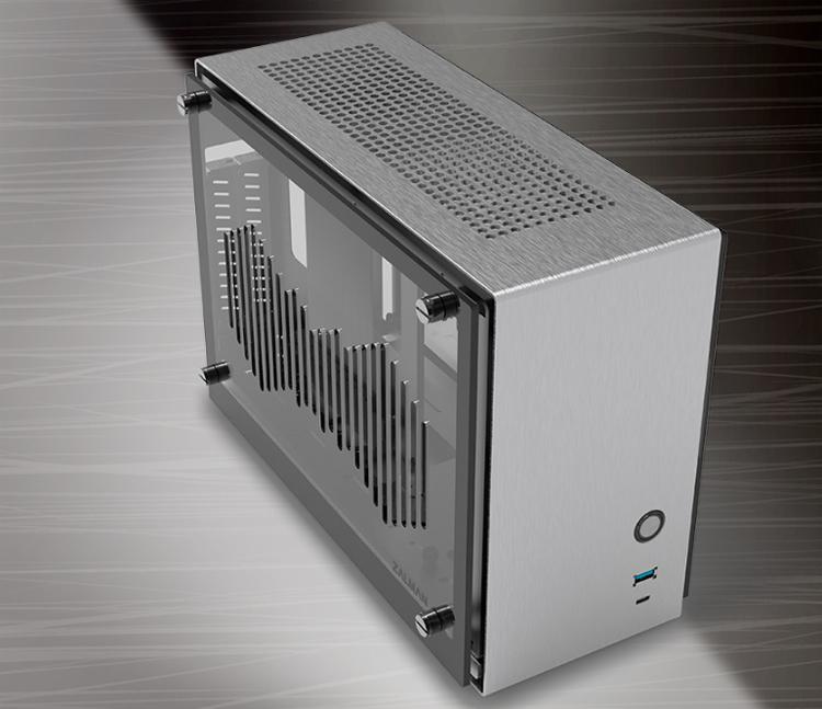 Zalman представила компактный корпус M2 mini с улучшенной вентиляцией