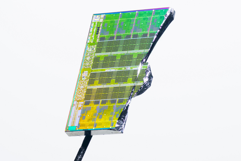 Часть ядра AMD Zen 3. Фото: Fritzchens Fritz