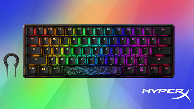 HyperX выпустила свою первую «60-процентную» механическую игровую клавиатуру