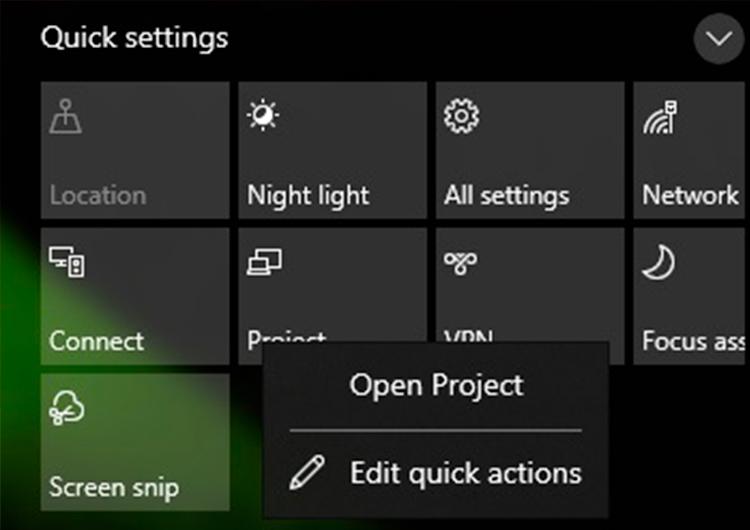 Скриншот нового Action Center (источник изображения: Windows Latest)