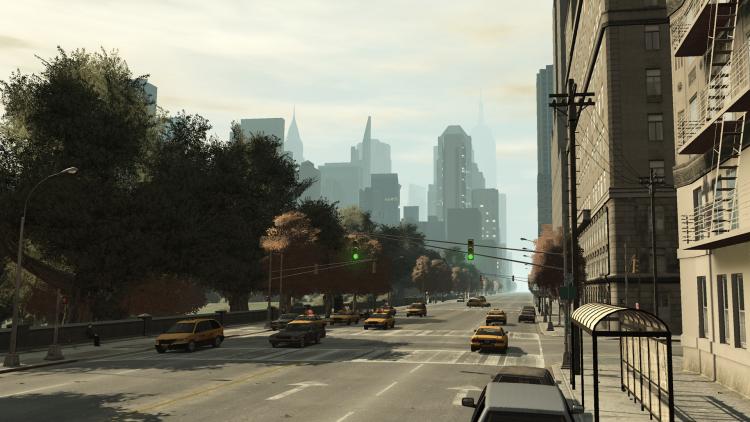 Либерти-Сити из GTA IV