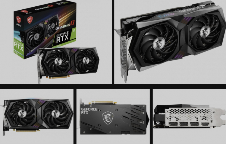 MSI GeForce RTX 3060 Gaming X