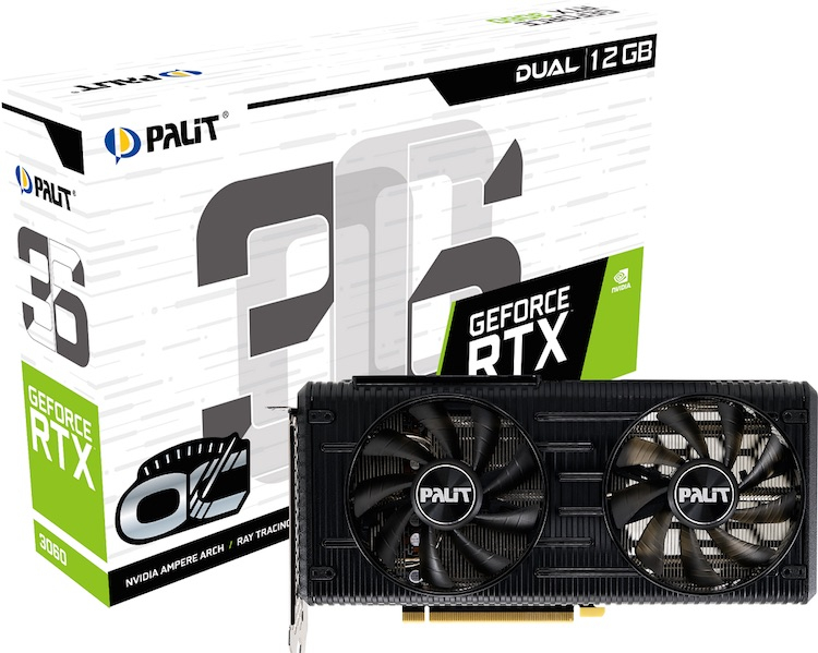 Palit GeForce 3060 Dual