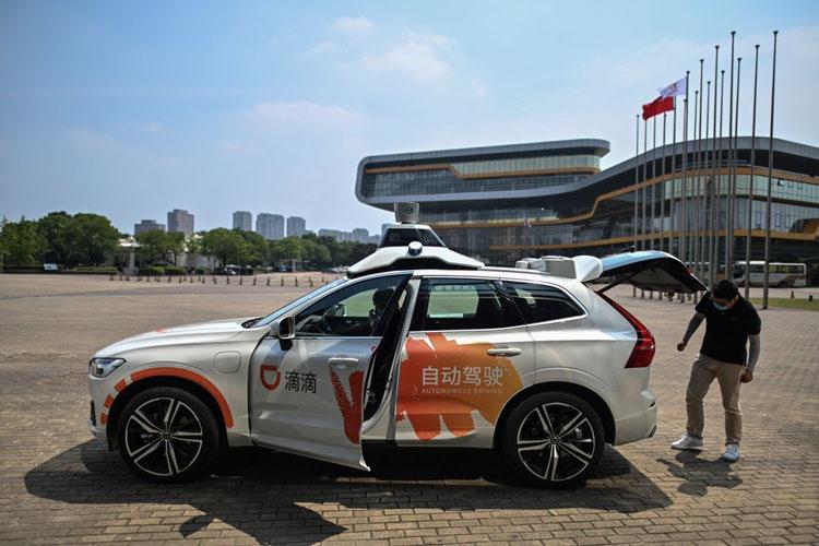 Такси с автопилотом в Шанхае. Источник изображения: AP