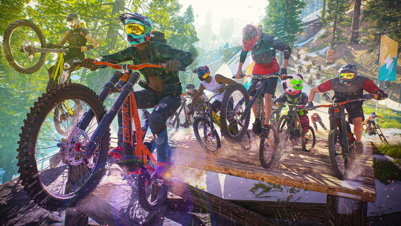 Ubisoft отложила запуск Riders Republic на более поздний срок, но игра всё равно выйдет в этом году
