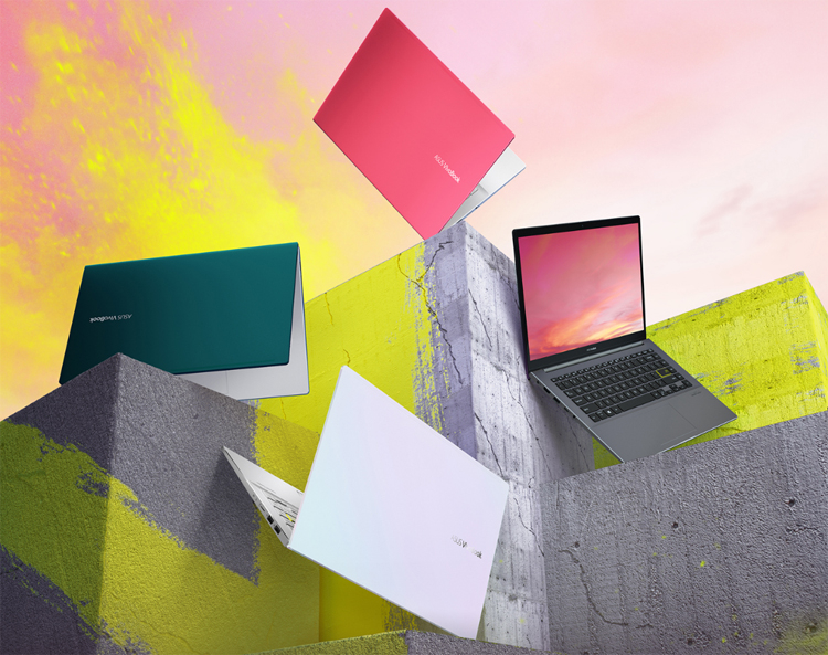 New ASUS VivoBook S laptops feature AMD chip and NanoEdge screen