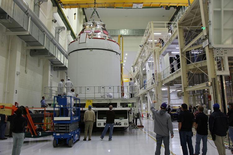 «Орион» к установке на ракету готов. Источник изображения: Lockheed Martin