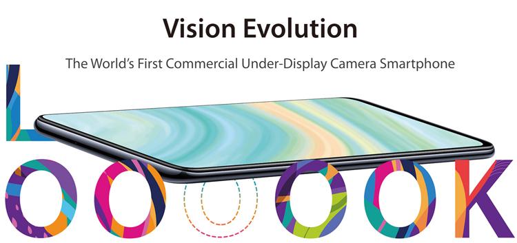 ZTE готовит смартфон второго поколения с подэкранной камерой