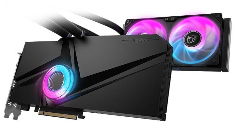 Colorful наделила видеокарту GeForce RTX 3080 жидкостным охлаждением с подсветкой