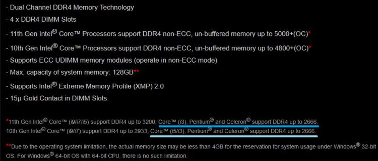 """Intel подтвердила, что платы на чипсетах H570 и B560 смогут разгонять оперативную память"""""""
