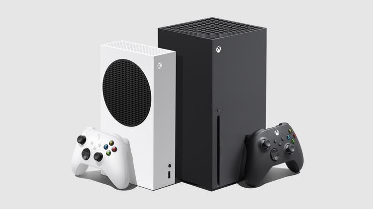 Xbox Series S (слева) и Xbox Series X (справа)