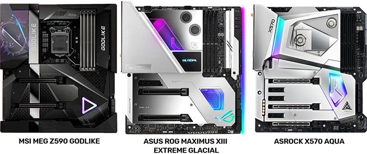 ASRock высмеяла MSI и ASUS за копирование дизайна своих материнских плат X570 Aqua