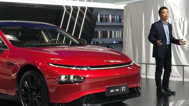 """Китайские электромобили Xpeng научились ездить за городом в автоматическом режиме"""""""