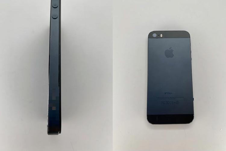 Опубликованы фотографии инженерного образца iPhone 5s в специальном чёрном цвете