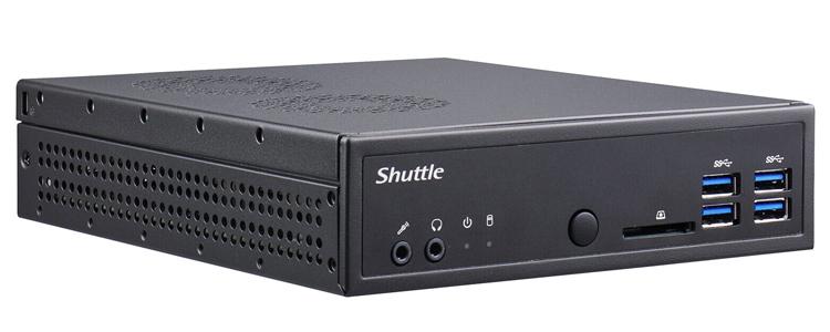 """Представлен неттоп Shuttle XPC slim DA320 с десктопным AMD Ryzen и 1,3-литровым корпусом"""""""