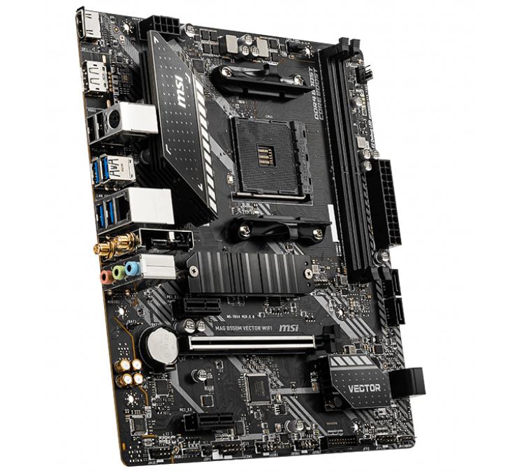 """MSI выпустила платы MAG A520M Bazooka WiFi и MAG B550M Vector WiFi для процессоров AMD"""""""