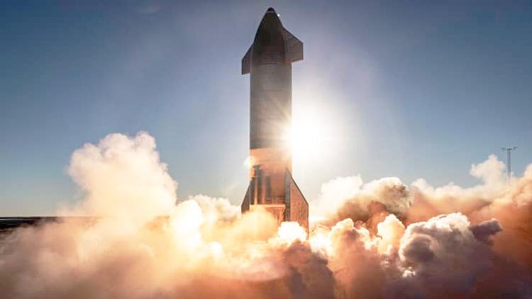 Огневые испытания двигателей прототипа Starship SN8 (SpaceX)