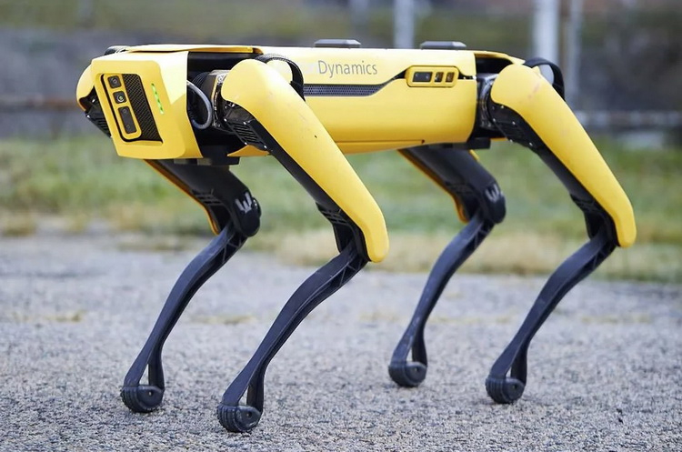 «Сбер» купил робота-собаку Spot компании Boston Dynamics
