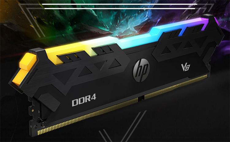 В России появилась оперативная память HP V8 RGB с частотой до 3600 МГц