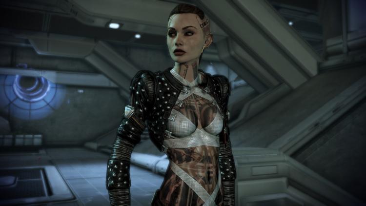 Джек из Mass Effect 2
