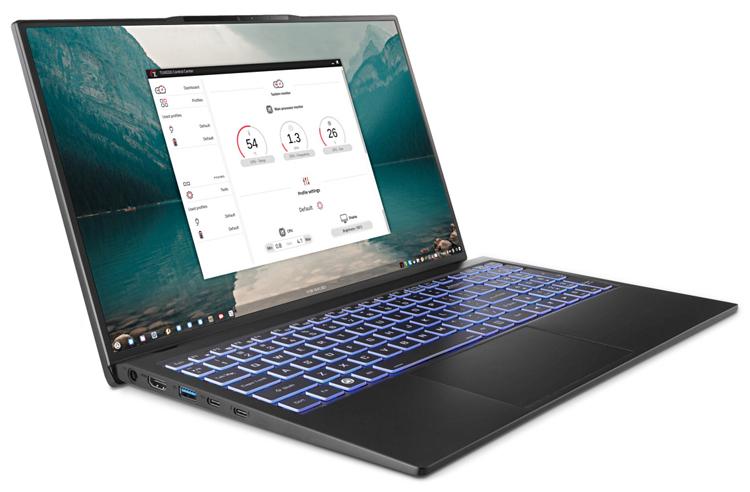 """Для ноутбука Tuxedo InfinityBook S 15 доступны на выбор различные варианты Linux"""""""