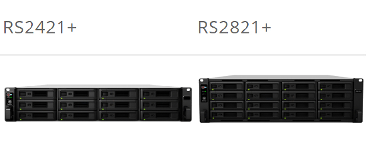 Synology launches 16D NAS RS2821RP+ based on AMD Ryzen V1500B