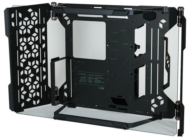 Cooler Master представила необычный открытый корпус-раму MasterFrame 700