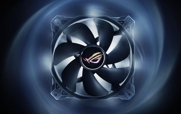 """ASUS представила корпусный вентилятор ROG Strix XF120 с технологией магнитной левитации"""""""