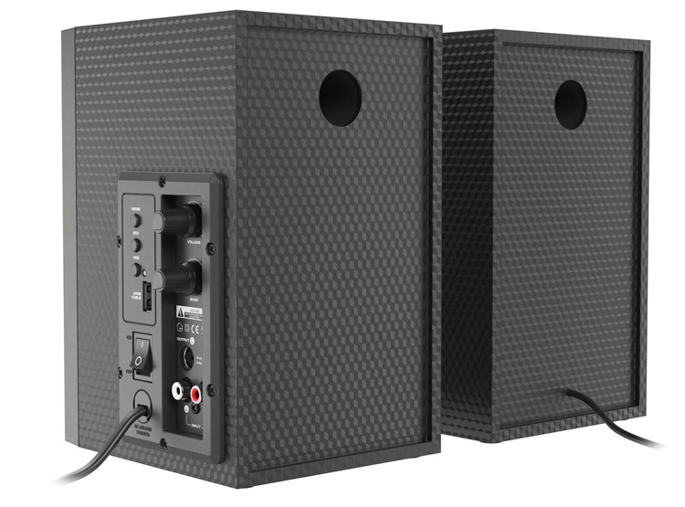 Представлены настольные колонки Genesis Helium 300BT ARGB с поддержкой Bluetooth 5.0 и разноцветной подсветкой