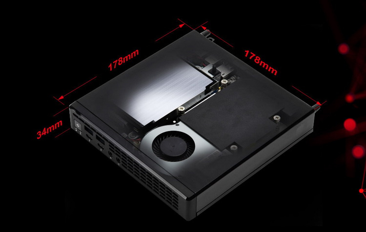 ASRock представила мини-ПК Jupiter X300 объёмом 1 литр на базе AMD Ryzen 4000G