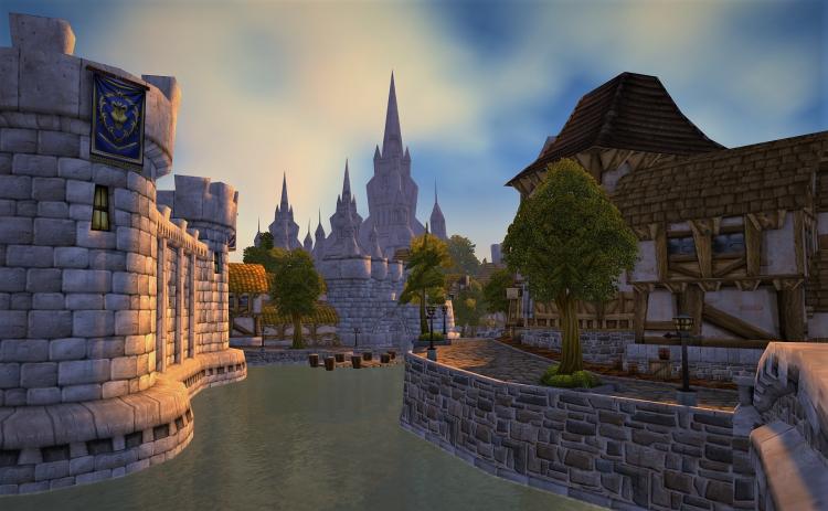 Штормград, Оргриммар и другие: игрок показал, как выглядят знаменитые локации из World of Warcraft в VR