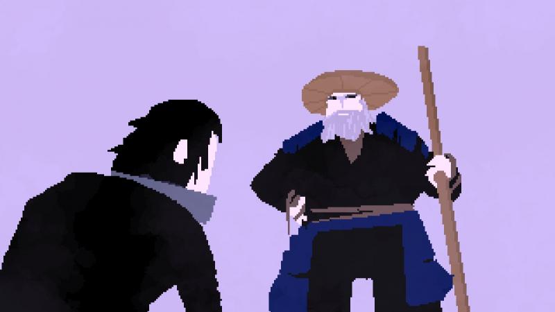Показательное внимание к второстепенным персонажам: что лодочник со сложным прошлым, что чудаковатый музыкант, что таинственный мастер меча — история и характер каждого героя решены и раскрыты
