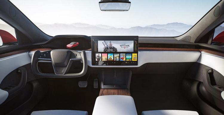 Updated Tesla Model S's on-board computer gets powerful AMD Navi graphics processor 23